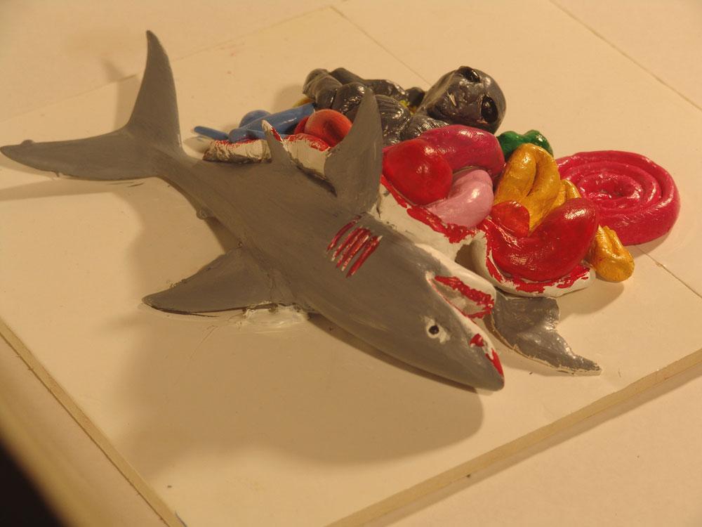 Shark-Alien Bouncy